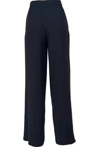 Misey Krep Pantolon Siyah Siyah 34
