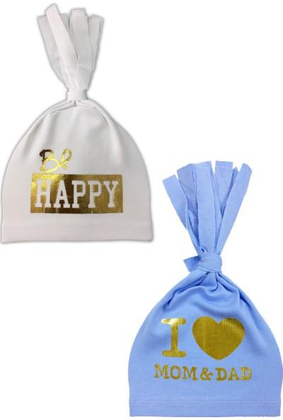 By Leyal For Kids 2'li Penye Şapka Set