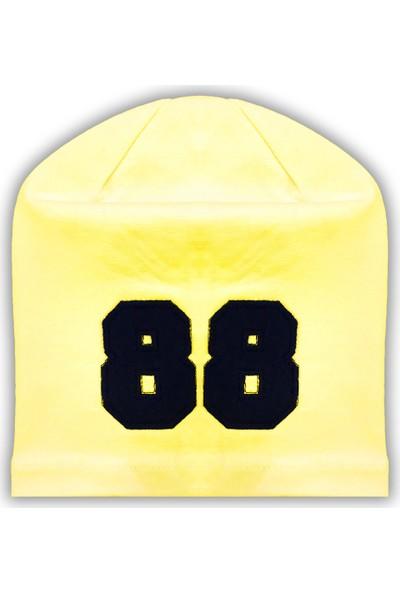 By Leyal For Kids 88 Detaylı Penye Şapka