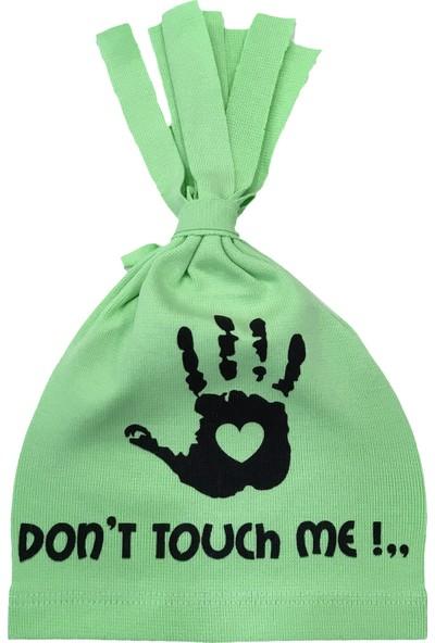By Leyal For Kids Don't Touch Detaylı Penye Şapka