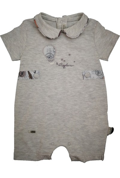 Babydola Pamuklu Bebek Tulumu