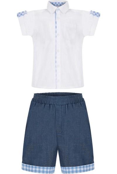 Bleu Lapin Baby Erkek Çocuk Takım Billy Suit