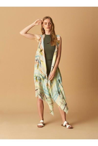 Roman Desenli Kimono-Y1884304-089
