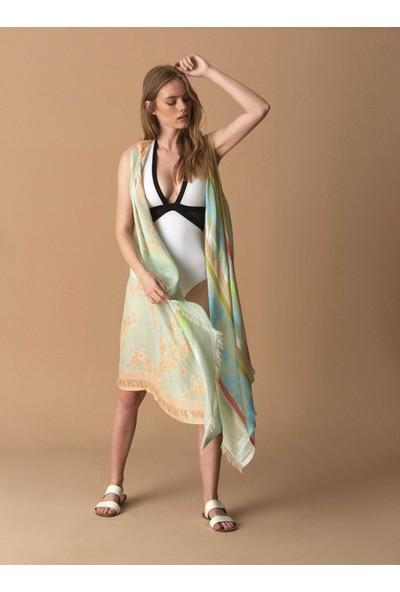 Roman Desenli Kimono