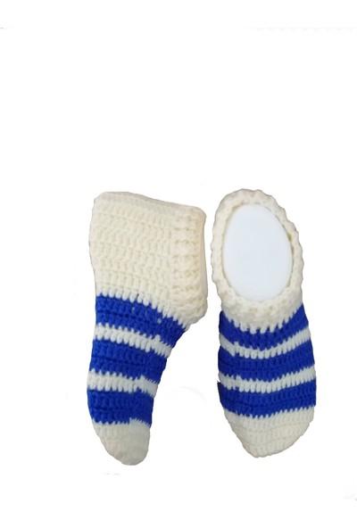 Nuh Home El Yapımı Kışlık Kadın Patik Çorap