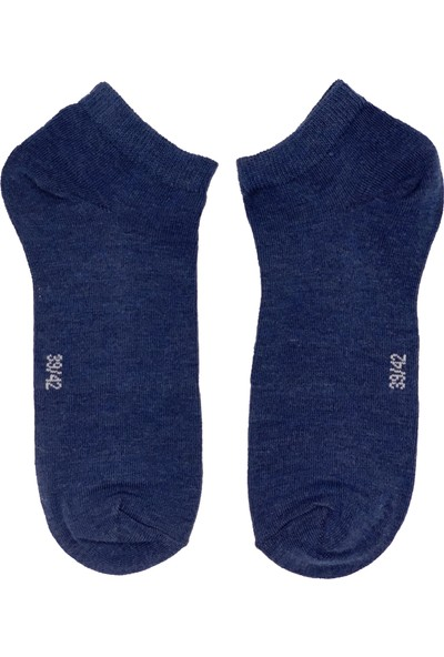 Egs Erkek Düz Patik Çorap 4 Çift Paket