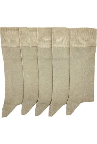 Egs Erkek Merserize Düz Çorap 5 Çift Paket