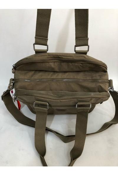 Smart Bags Kadın Kol Çantası 34CM24CM Kumaş Vizon