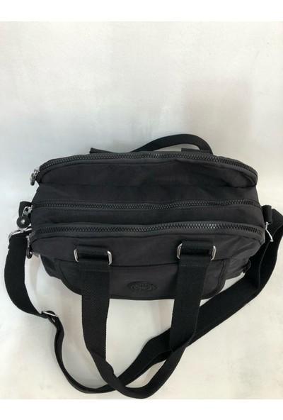 Smart Bags Kadın Kol Çantası 34CM24CM Kumaş Siyah