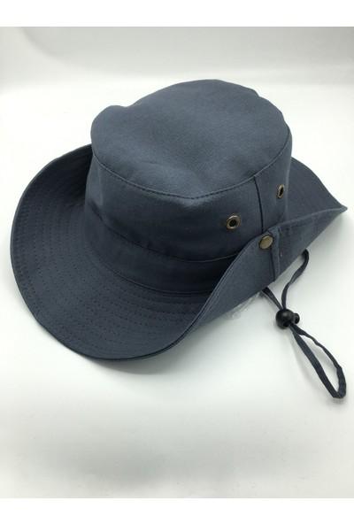 Gonca Şapka Yazlık Katlanabilir Safari Fötr Şapka