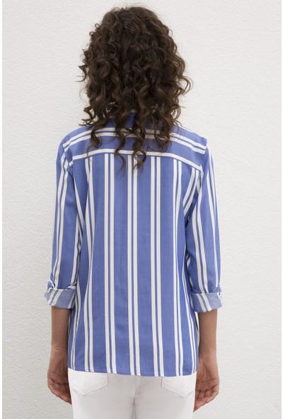 U.S. Polo Assn. Kadın Dokuma Gömlek 50219167-VR045
