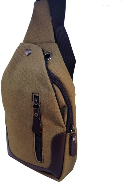 Solaksesuar Kanvas Göğüs Çantası Bodybag BD325
