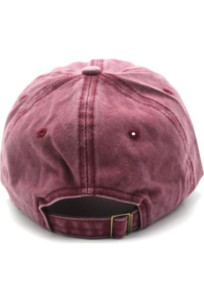 Poyraz Düz Eskitme Şapka