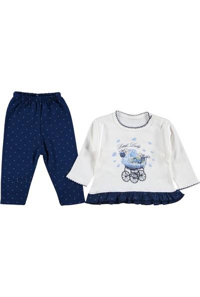 Minilay Kız Bebek Pullu Arabalı Takım 263747