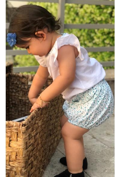 Bleu Lapin Baby Mint Rose Kız Bebek Takım