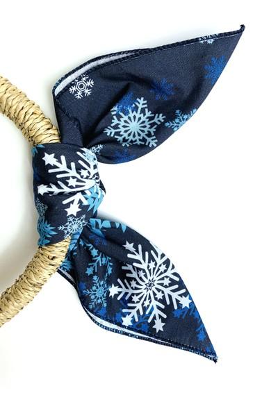 Duanil Kadın Desenli Pamuk Kumaş Çanta Aksesuar Fuları