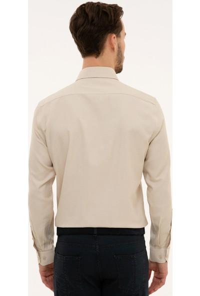 Pierre Cardin Erkek Gömlek Uzunkol 50227391-Vr011