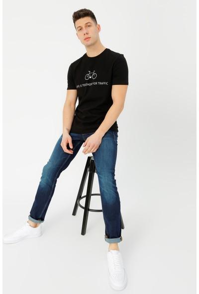 Limon Company Erkek Bisiklet Yaka T-Shirt
