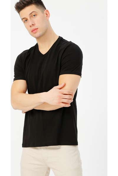 Limon Company Erkek V Yaka Tişört
