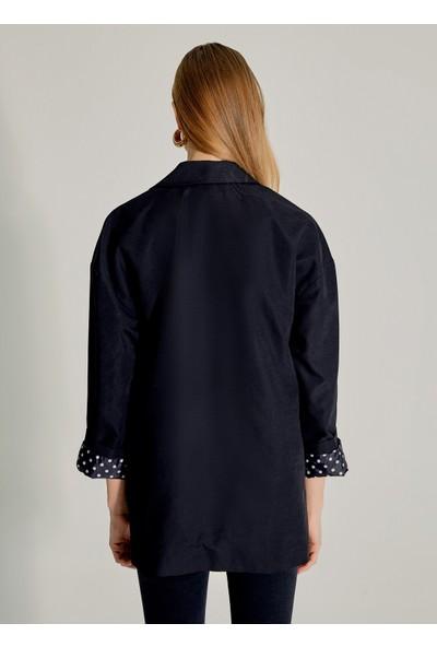 Ngstyle Kadın Desenli Astar Detaylı Ceket