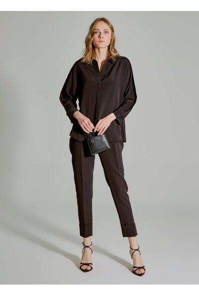 People By Fabrika Kadın Kol Detaylı Gömlek