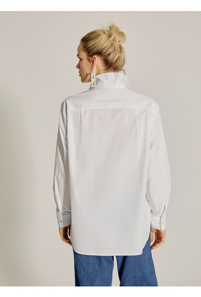 Ngstyle Kadın Düğme Detaylı Gömlek