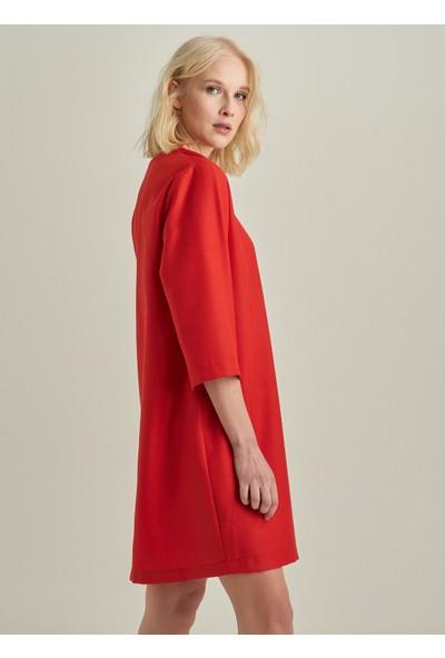 Ngstyle Kadın V Yaka Elbise
