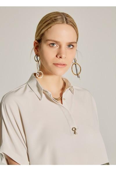 Ngstyle Kadın Essentials - Oversize Renk Bloklu Elbise