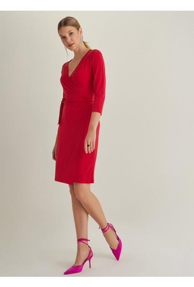Ngstyle Kadın Anvelop Örme Elbise