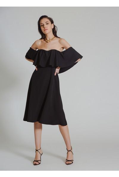 People By Fabrika Kadın Straplez Elbise