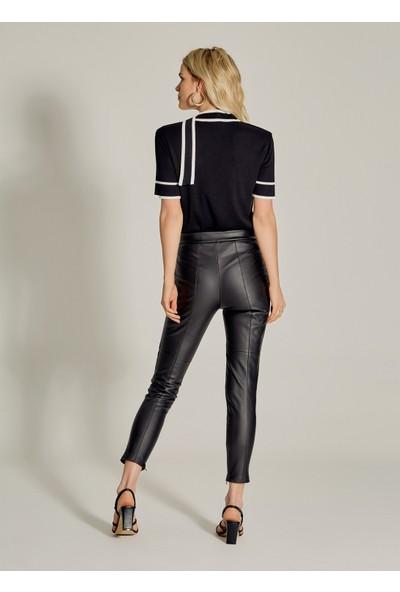 Ngstyle Kadın Suni Deri Tayt Pantolon