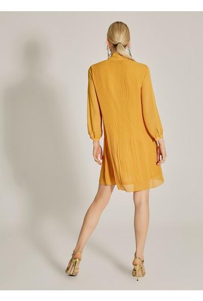 Ngstyle Kadın Piliseli Şifon Elbise