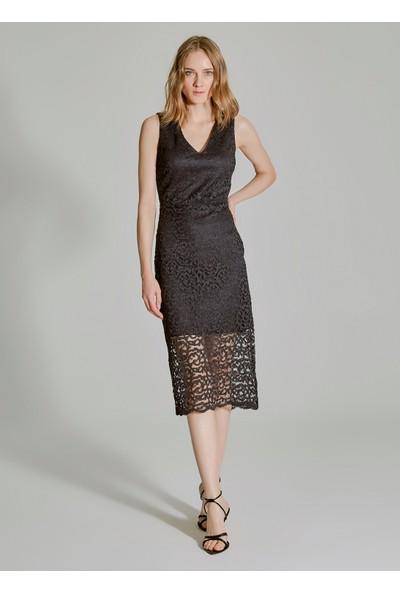 People By Fabrika Kadın Dantel Elbise