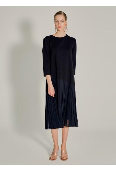 Ngstyle Kadın Piliseli Sweat Elbise