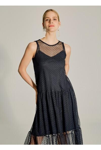 Ngstyle Kadın Puantiye Tüllü Elbise