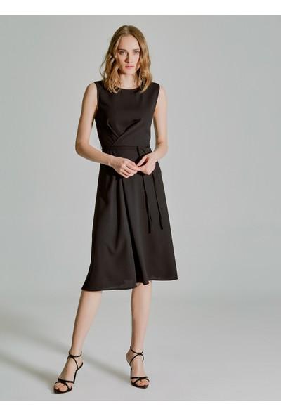People By Fabrika Kadın Bel Detaylı Elbise