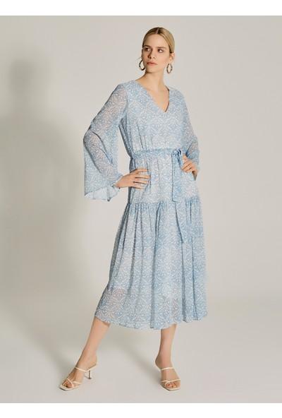 Ngstyle Kadın Geniş Kollu Maksi Elbise