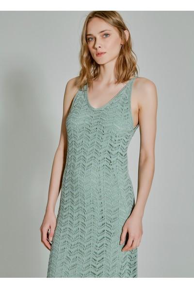 People By Fabrika Kadın Triko Elbise