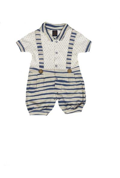 Bebefan Erkek Bebek Tulum Takımı