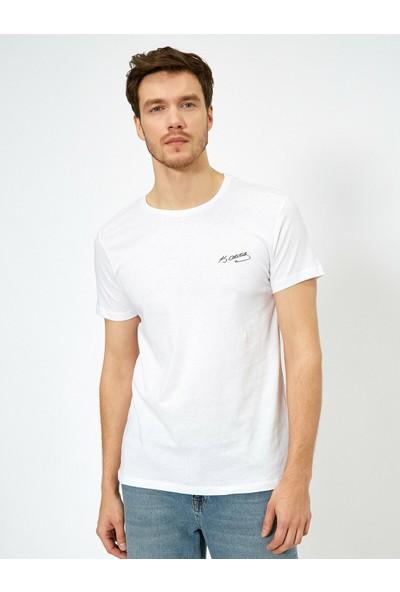Koton Erkek Atatürk Baskılı T-Shirt