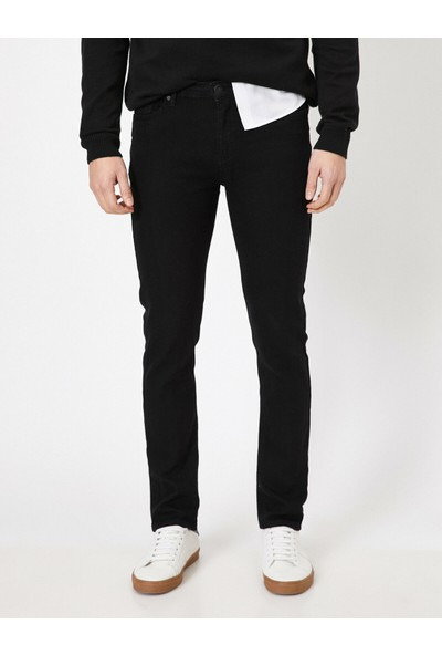 Koton Erkek Brad Slim Fit Jean Pantolon