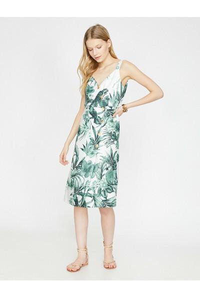 Koton Kadın The Floral Dress - Çiçek Desenli Elbise