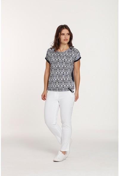 Top Secret Büyük Beden Lacivert T-shirt