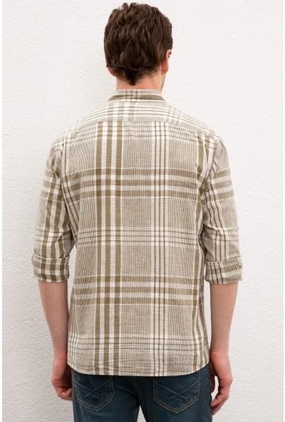 U.S. Polo Assn. Erkek Dokuma Gömlek 50218687-VR027
