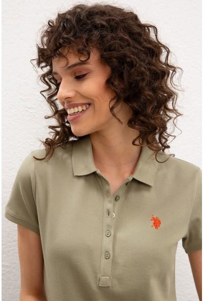 U.S. Polo Assn. Kadın T-Shirt 50222743-VR027