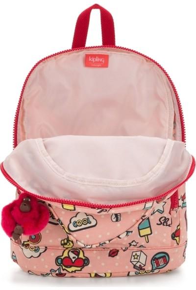 Kipling Heart Backpack Kalp Sırt Çantası