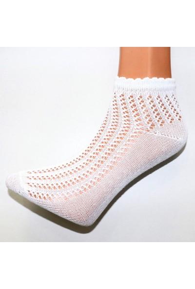 Saby Kadın Fileli Hava Alabilen 4'lü Soket Çorap