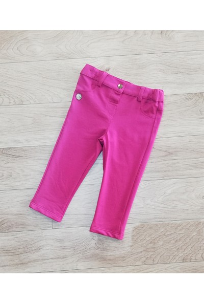 Bebepan Kız Bebek Penye Pantolon