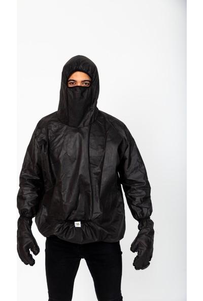 Anticor Koruyucu Fonksiyonel Yağmurluk Siyah S-M