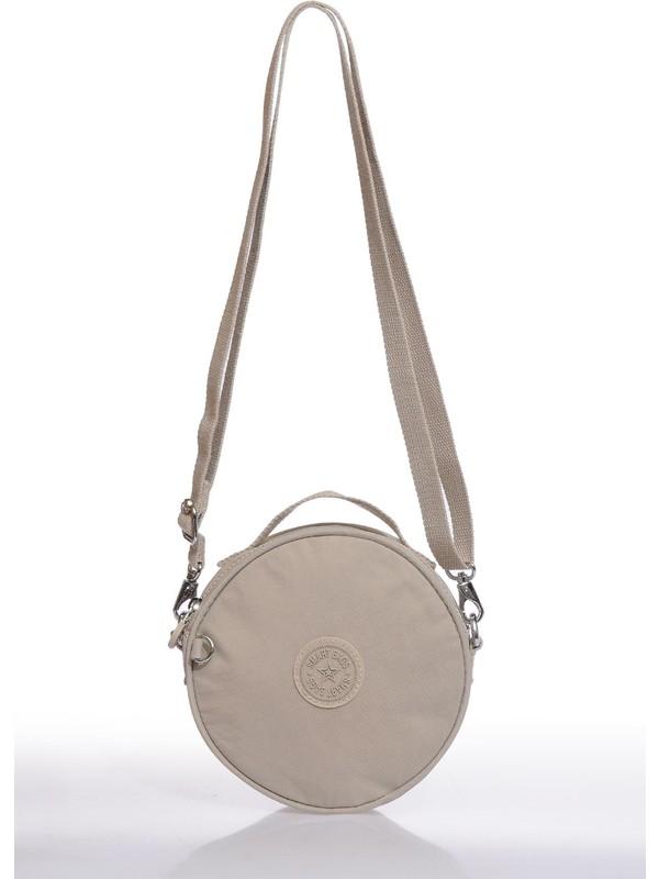 Smart Bags SMB3024-0003 Bej Kadın Çapraz Çanta